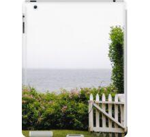 White Picket Fence, Nantucket iPad Case/Skin