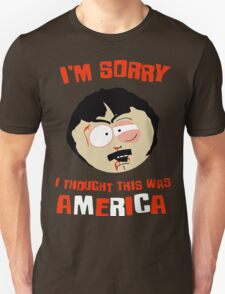 South park - funniest quote by Randy Marsh  T-Shirt