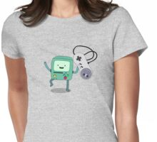 BMO + SNES Womens Fitted T-Shirt