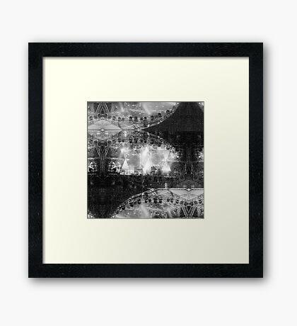 P1430721 _Luminance _Rasterbator _XnView _GIMP Framed Print