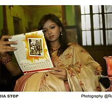 saree shoot 5 by ranjay