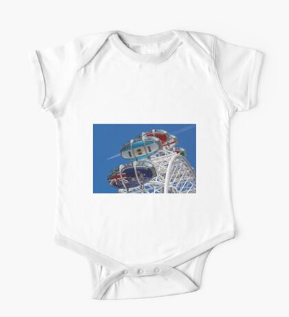 The London Eye and Jet Aircraft One Piece - Short Sleeve