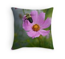 "Bumble Bee 1 ""target acquired"" Throw Pillow"