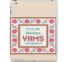 2 Chainz in the kitchen yams everywhere (birthday song) iPad Case/Skin