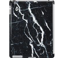 Black marble iphone case iPad Case/Skin