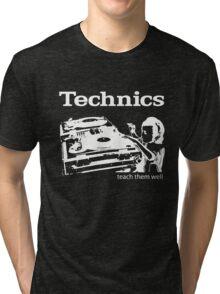 technics 3 Tri-blend T-Shirt