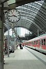 Frankfurt am Main Central Station by Kasia-D