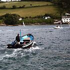 The Salcombe Ferry by TimLarge
