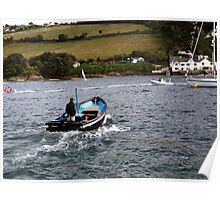 The Salcombe Ferry Poster