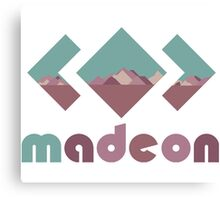 Madeon color Canvas Print