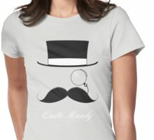 The Quite Manly Tee Womens Fitted T-Shirt