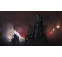 The high king and dark lord Photographic Print