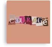 Klaine Courage Canvas Print