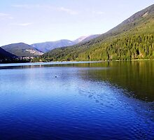 Picturesque Little Lake in Trentin by sstarlightss