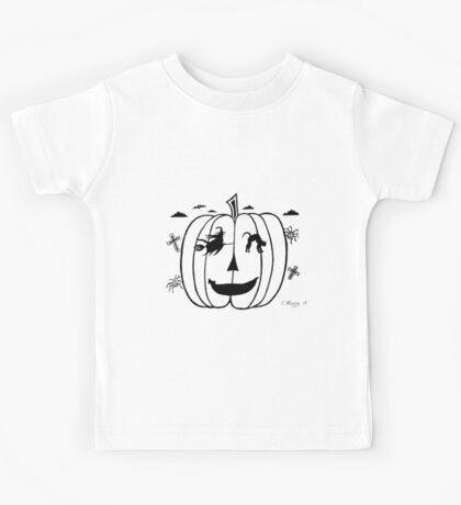 Spooky Eyes Kids Tee