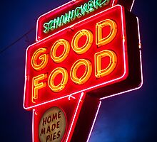 Schmucker's Diner In Toledo Ohio by John Hartung