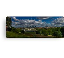 Greenwich Panoramic Canvas Print