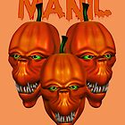 Maniacal Pumpkins  by LoneAngel