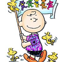 Wave that flag Charlie Brown by chinacat65