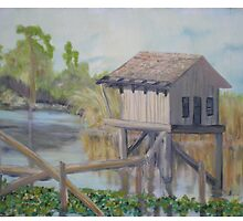 Pole House In The Gulf by Newhouser
