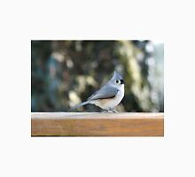 Tufted titmouse taking a break Unisex T-Shirt