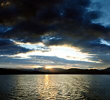 Windermere Sunday sunset by digitalnative