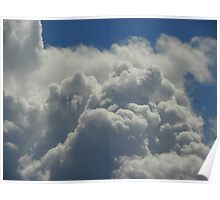 Piles of Clouds Poster