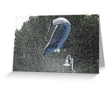 Flip Splash! Greeting Card