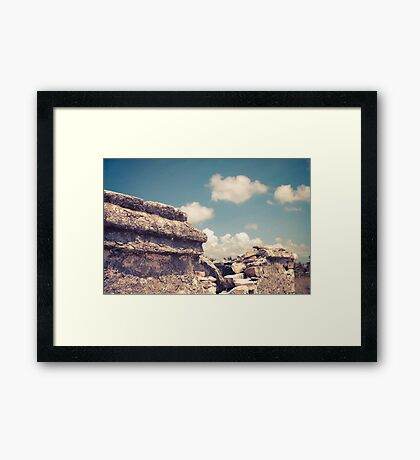 Mayan Creation Framed Print