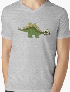 Stego Da Vinci Mens V-Neck T-Shirt