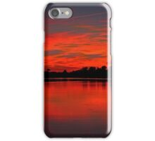 Sunset on the Wall iPhone Case/Skin
