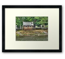 An Afternoon at the Boyscout Camp Framed Print