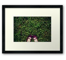 Walk With Me.... Framed Print
