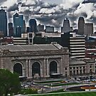 Skyline of Kansas City, Missouri by michael6076
