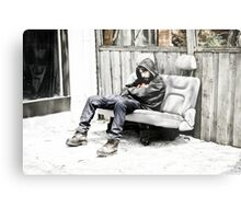 The Nap Metal Print