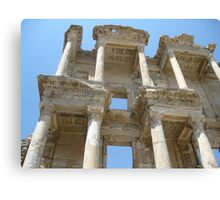 Ancient Library  Canvas Print