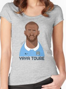 Yaya Toure Women's Fitted Scoop T-Shirt