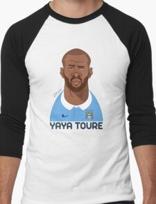 Yaya Toure Men's Baseball ¾ T-Shirt