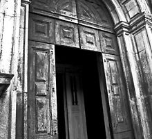 Entrance to the Cathedral of St Catherine of Alexandria by vibzart