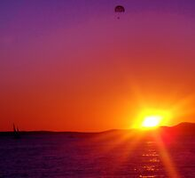 'Purple' Sunset in San Antonio, Ibiza by CalumCJL