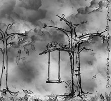 Birds in a tree by GreenleePhoto