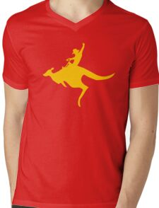 Real Cowboys Roodeo! Mens V-Neck T-Shirt