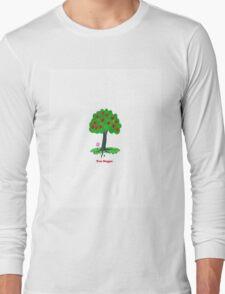 Tree Hugger Design Long Sleeve T-Shirt