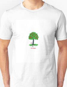 Tree Hugger Design Unisex T-Shirt