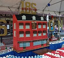 Union Oyster House Cake. 185th Birthday Celebration. by Lee d'Entremont