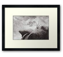 The Lost Road Framed Print