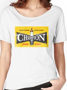 Vintage Spark Plug Women's Relaxed Fit T-Shirt