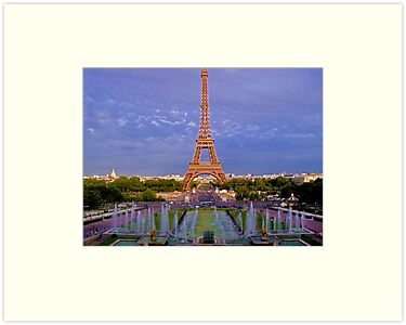 The Eiffel Tower, Paris by CalumCJL