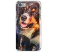 Space Border Collies rule the Universe iPhone Case/Skin
