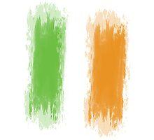 Ireland Flag Dublin Flag Photographic Print